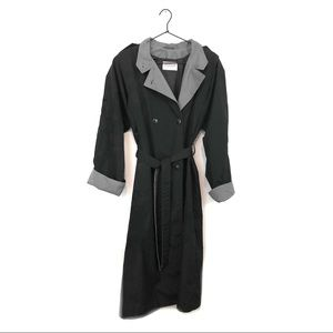 Vintage Nordstrom Town Square Trench Coat